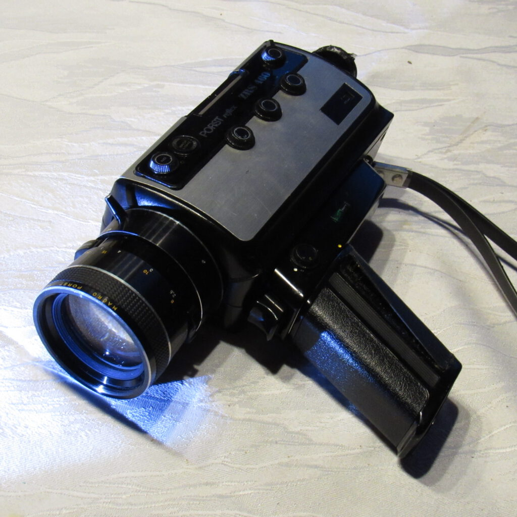 Meine Super 8 Filmkamera